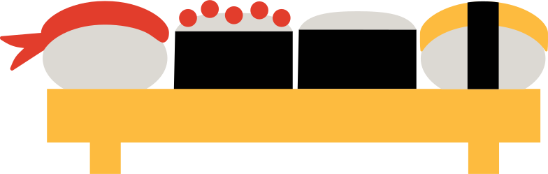 PNGとSVGの  スタイルの 寿司セット ベクターイメージ | Icons8 イラスト