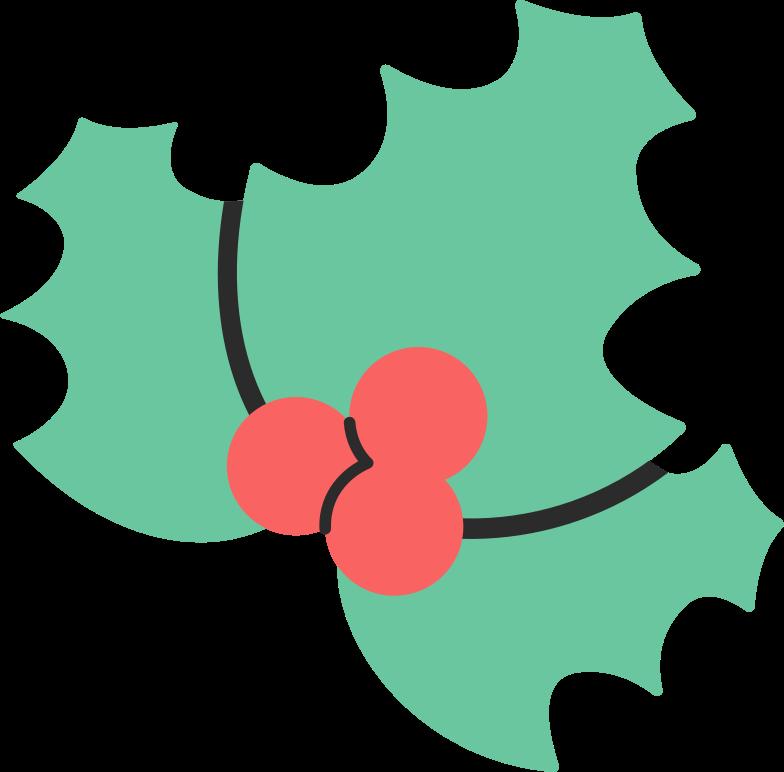 mistletoe Clipart illustration in PNG, SVG