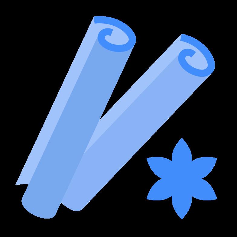 cinnamon sticks Clipart illustration in PNG, SVG