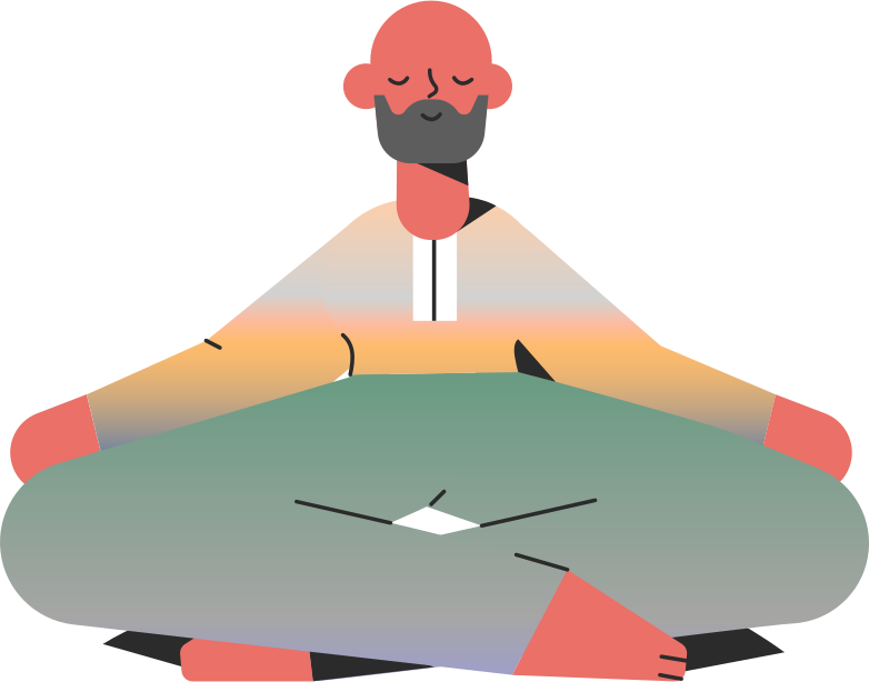 style man meditation Vector images in PNG and SVG | Icons8 Illustrations