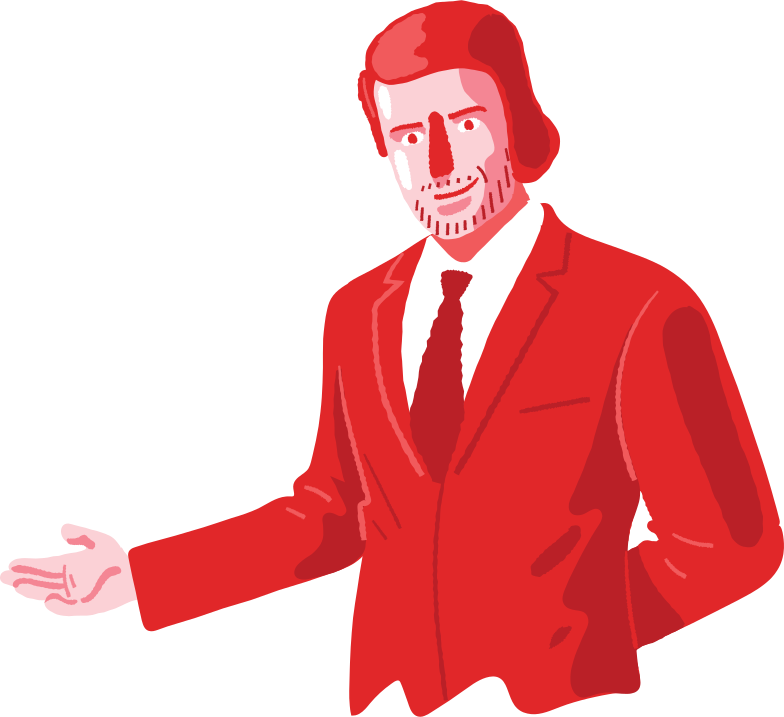 style welcoming man Vector images in PNG and SVG | Icons8 Illustrations