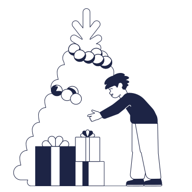 style Receives a gift images in PNG and SVG | Icons8 Illustrations