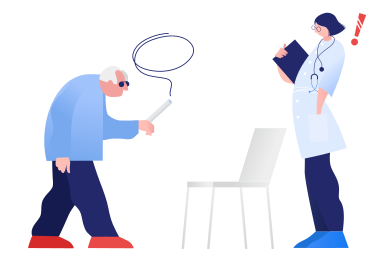 style Visit to a doctor images in PNG and SVG | Icons8 Illustrations