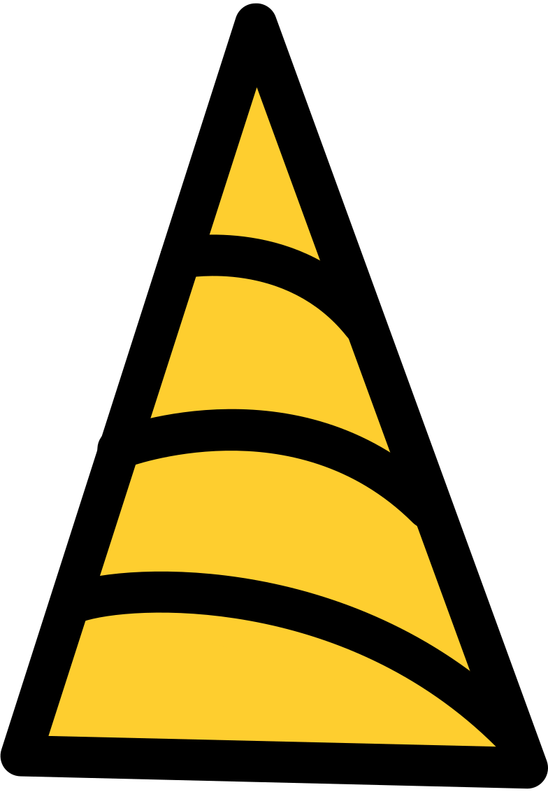 party hat Clipart illustration in PNG, SVG