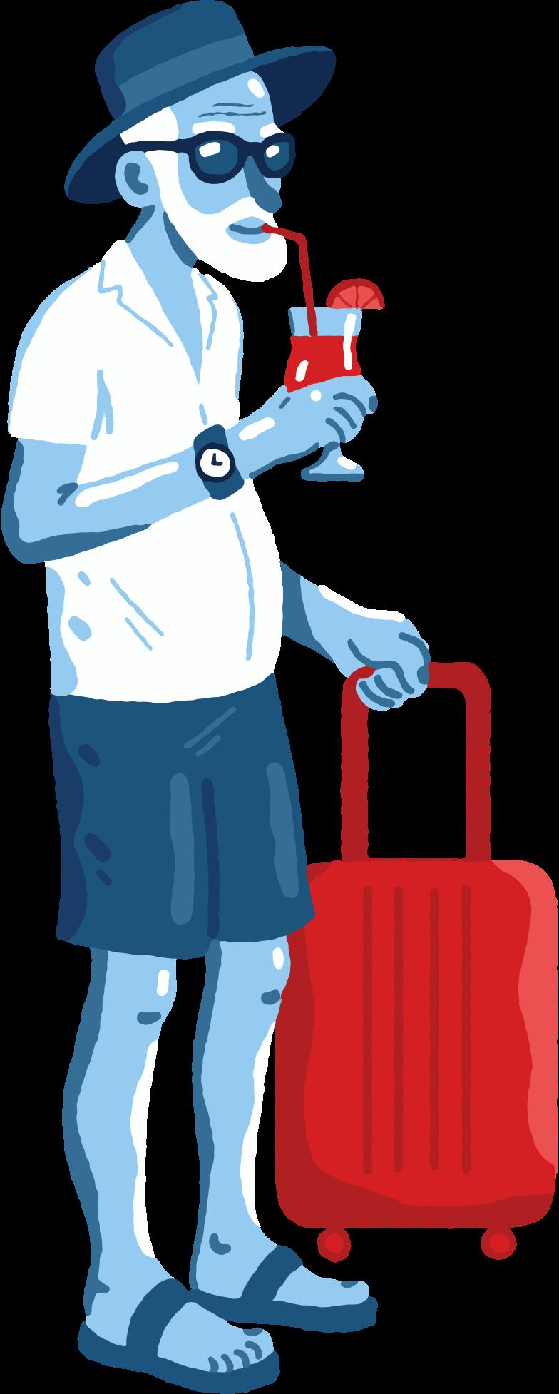retire Clipart illustration in PNG, SVG