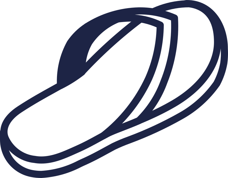 style flipflops 2 line Vector images in PNG and SVG | Icons8 Illustrations