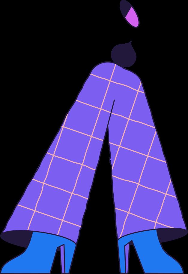 Ilustración de clipart de Hombre de pie en PNG, SVG