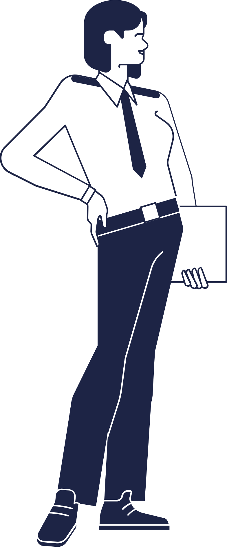 police woman Clipart illustration in PNG, SVG