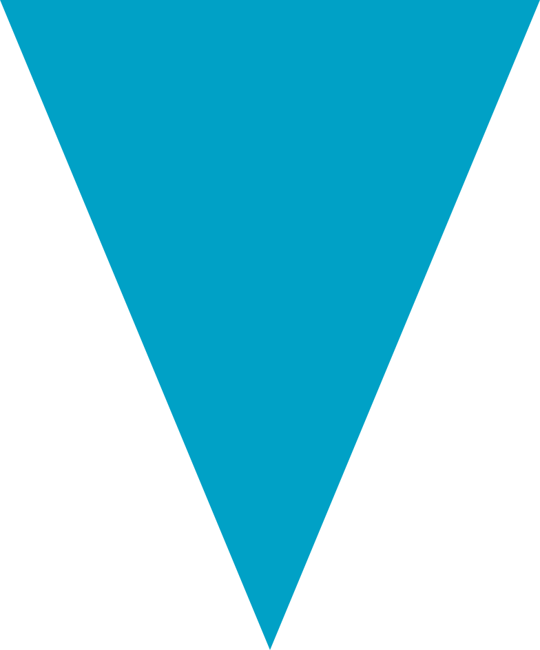 triangle cyan Clipart illustration in PNG, SVG