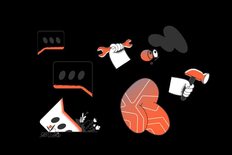 online-support-service Clipart-Grafik als PNG, SVG