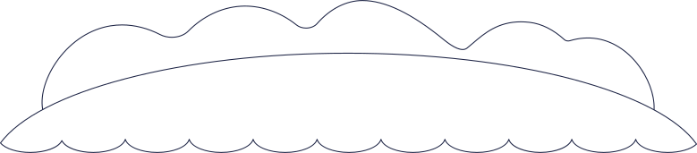 island background line Clipart illustration in PNG, SVG