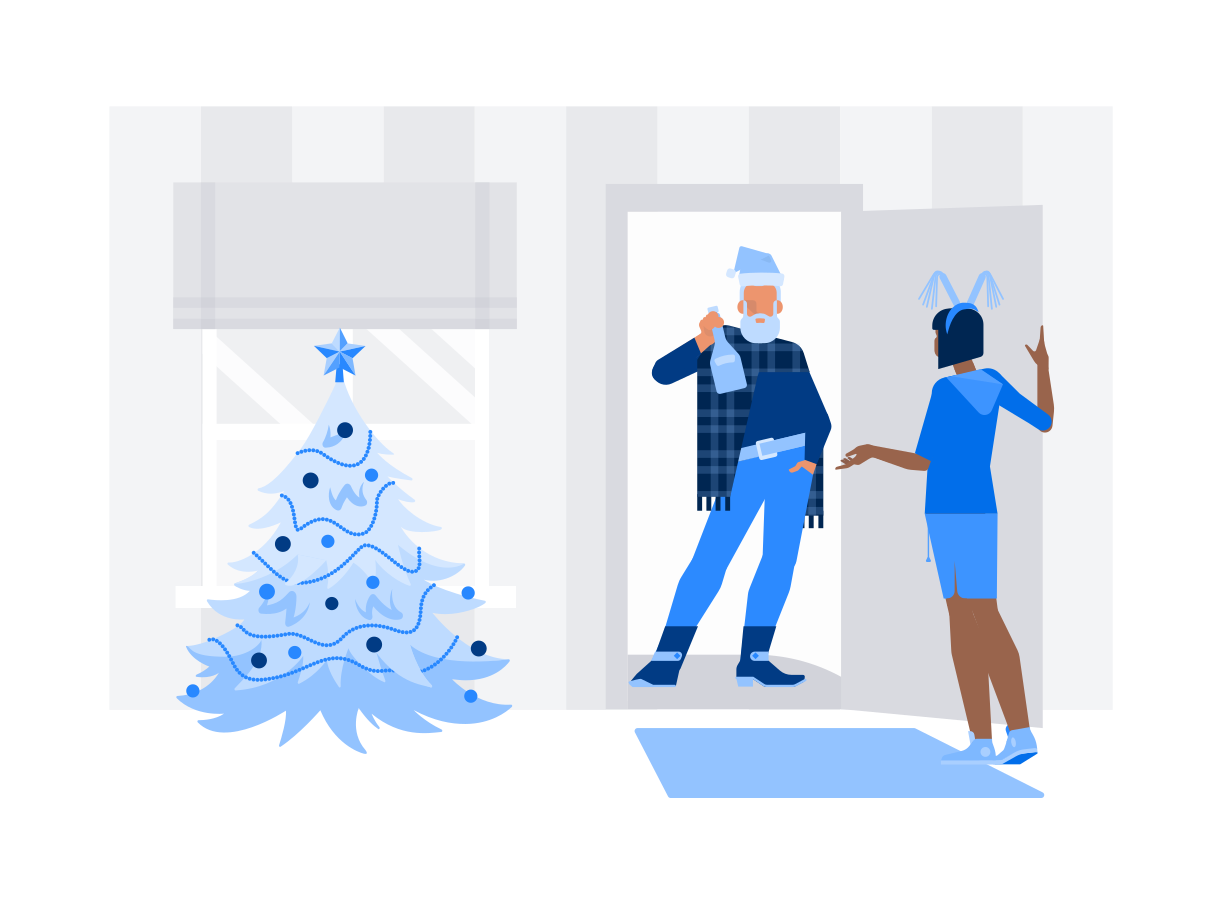 style Christmas surprise images in PNG and SVG | Icons8 Illustrations
