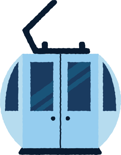 style ski lift cabin images in PNG and SVG | Icons8 Illustrations