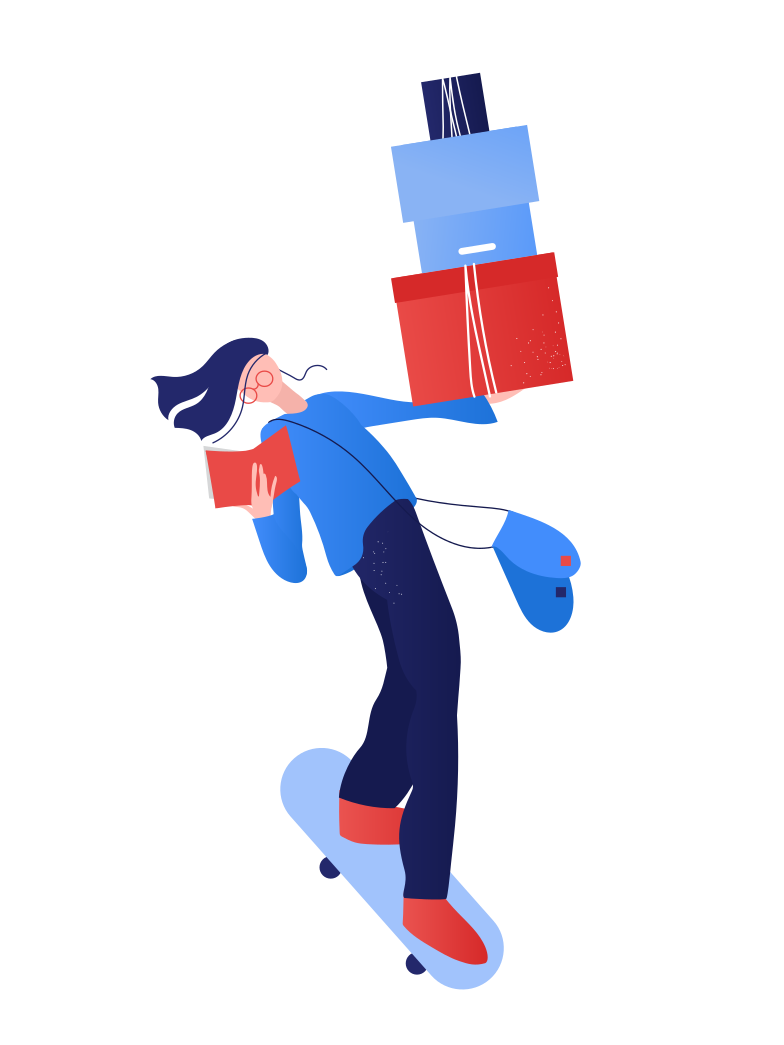 style Delivery is coming Vector images in PNG and SVG | Icons8 Illustrations