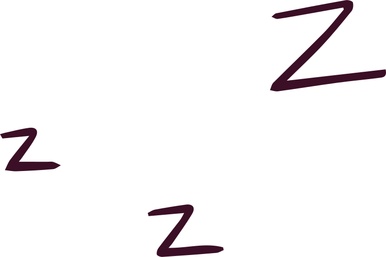 zzz Clipart illustration in PNG, SVG