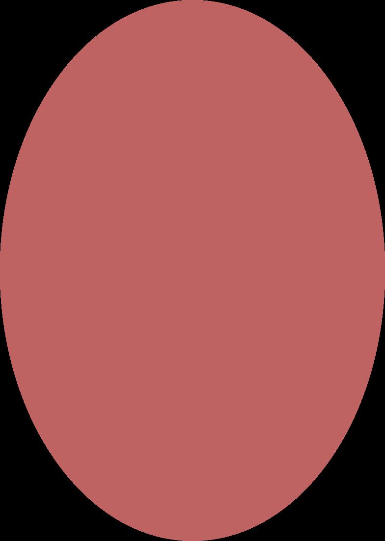 ellipse burgundy Clipart illustration in PNG, SVG