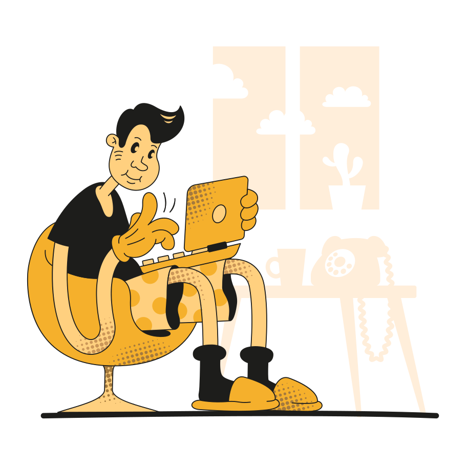 style Working at home Vector images in PNG and SVG | Icons8 Illustrations