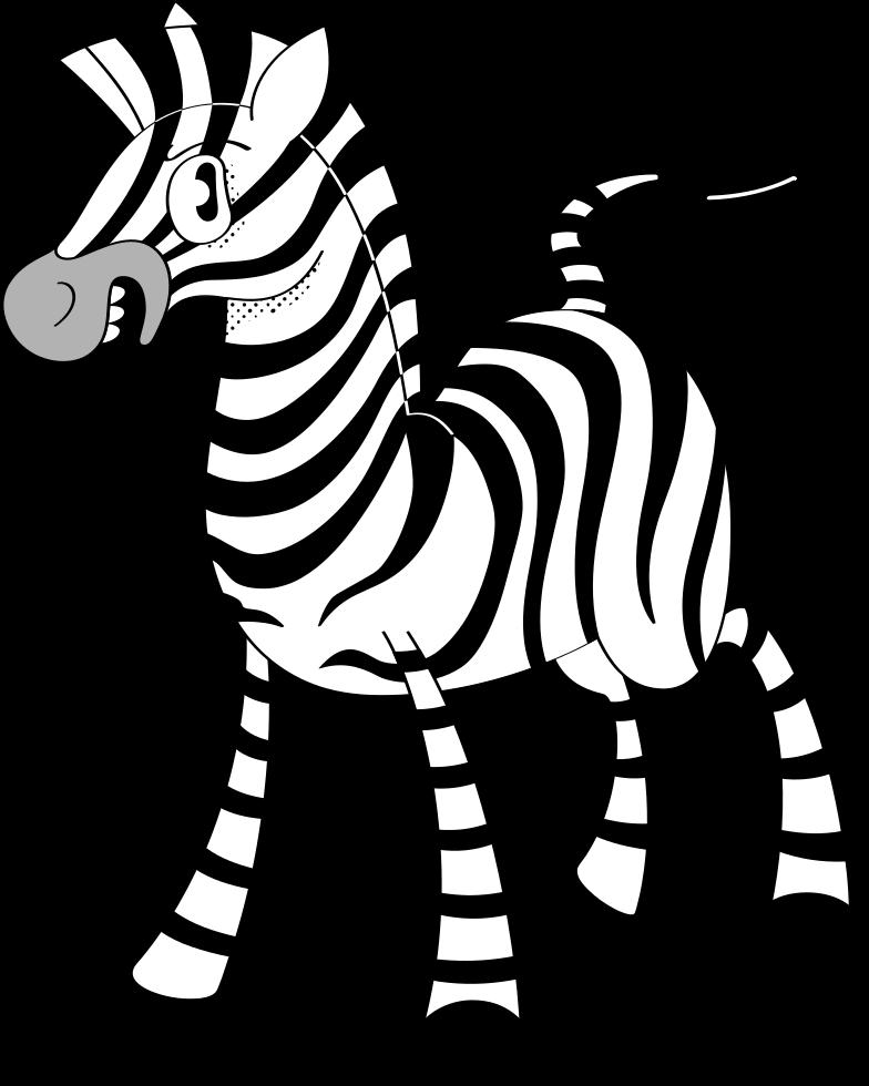 zebra Clipart illustration in PNG, SVG