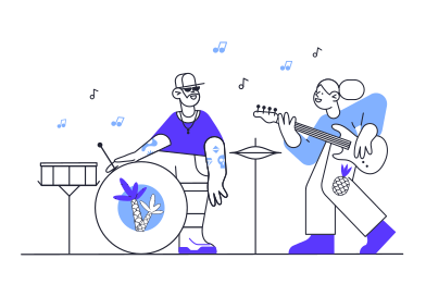 style Music band images in PNG and SVG | Icons8 Illustrations