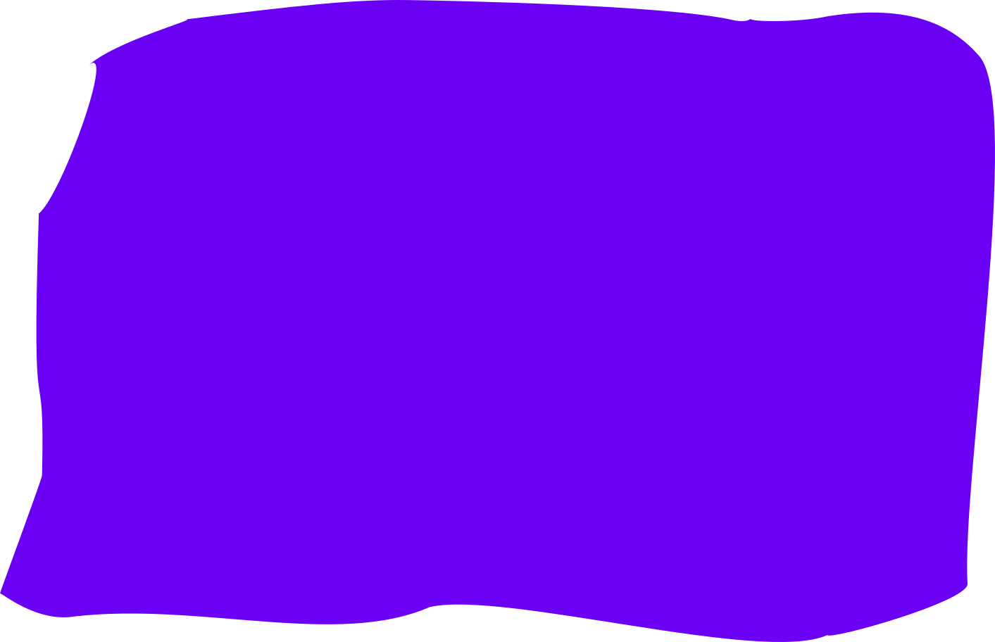 purple restangle with round corner Clipart illustration in PNG, SVG