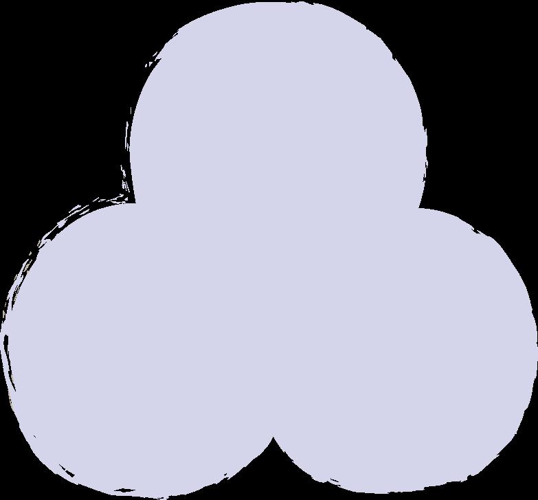 trefoil-purple Clipart illustration in PNG, SVG