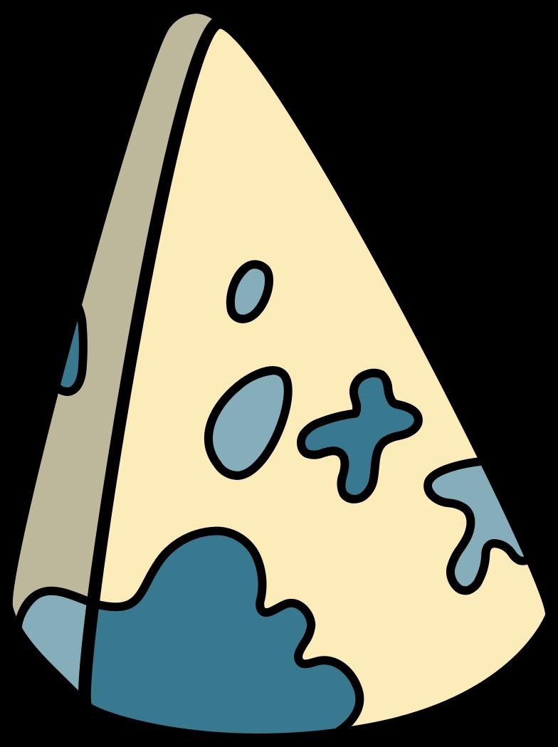 Иллюстрация сыр с плесенью голубой в стиле  в PNG и SVG | Icons8 Иллюстрации
