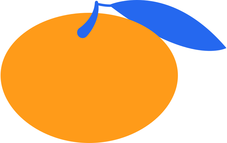 mandarin Clipart illustration in PNG, SVG