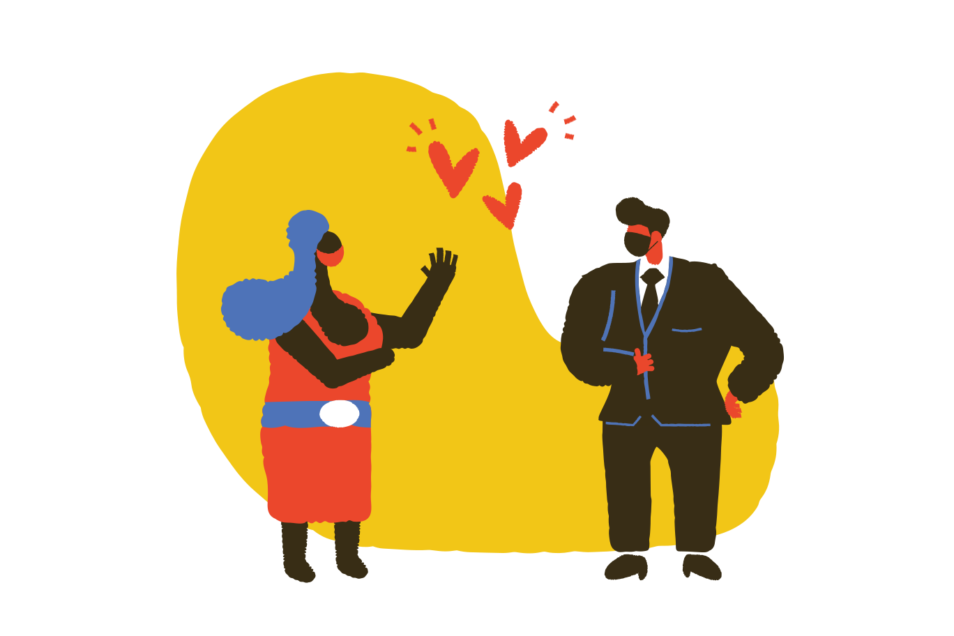 style Dating in masks Vector images in PNG and SVG | Icons8 Illustrations