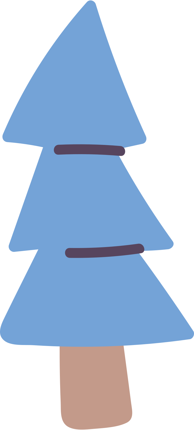 fir tree Clipart illustration in PNG, SVG