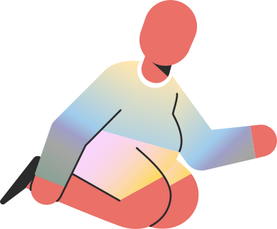 style chubby child sitting on knees images in PNG and SVG | Icons8 Illustrations