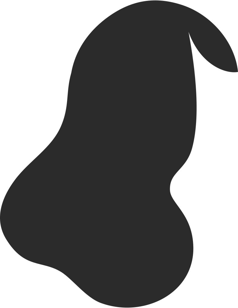 middle lenth hair side parting back Clipart illustration in PNG, SVG