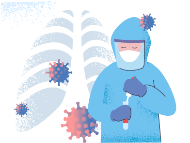 style Coronavirus lab images in PNG and SVG | Icons8 Illustrations