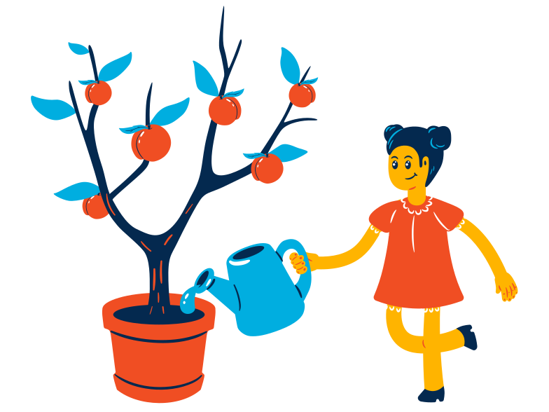 Apple tree Clipart illustration in PNG, SVG