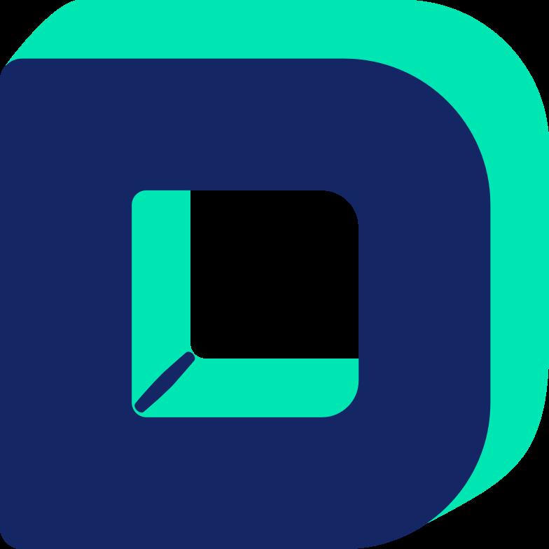 letter d Clipart illustration in PNG, SVG