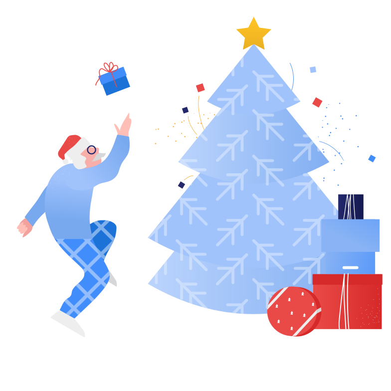 style Rejoice at gifts Vector images in PNG and SVG | Icons8 Illustrations