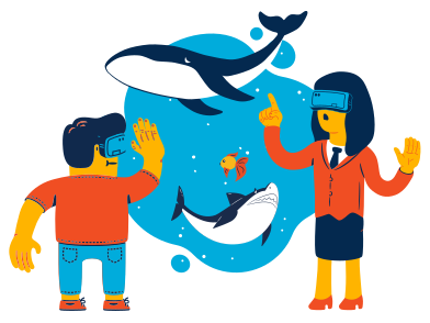 style VR ocean images in PNG and SVG | Icons8 Illustrations