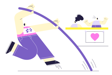 style High jump images in PNG and SVG | Icons8 Illustrations