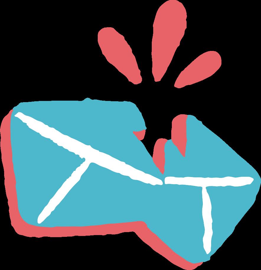 Ilustración de clipart de Mensaje roto en PNG, SVG