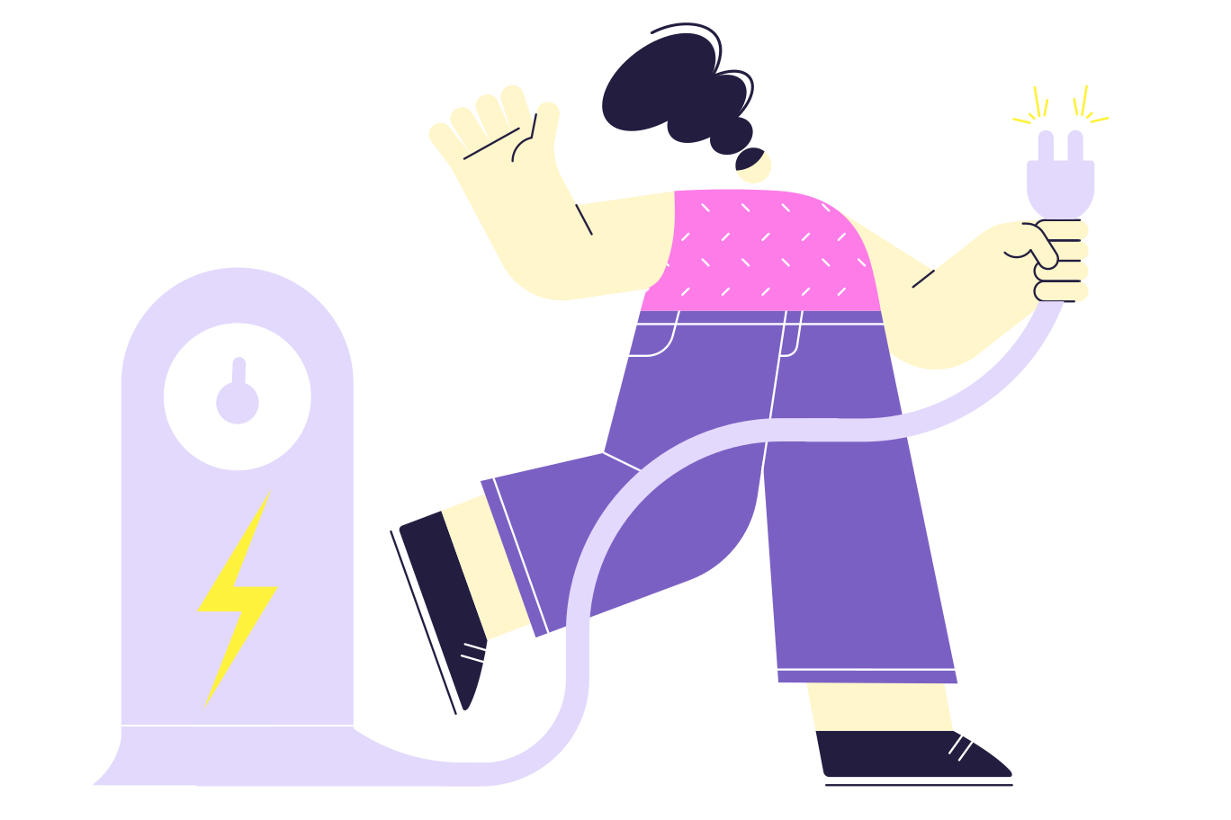 Electric station Clipart illustration in PNG, SVG