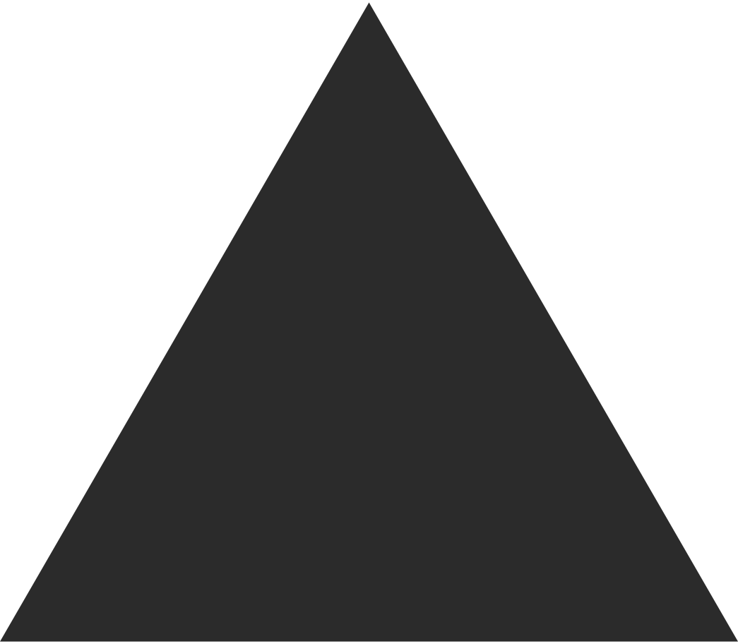 triangle black Clipart illustration in PNG, SVG