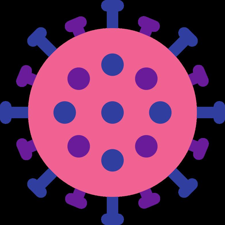 coronavirus Clipart illustration in PNG, SVG