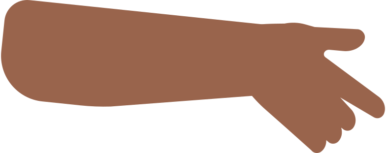 girl hand Clipart illustration in PNG, SVG