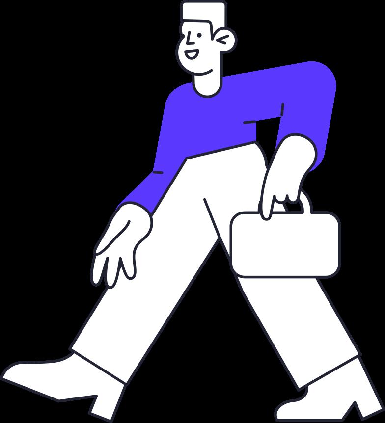 Ilustración de clipart de sign out  man en PNG, SVG