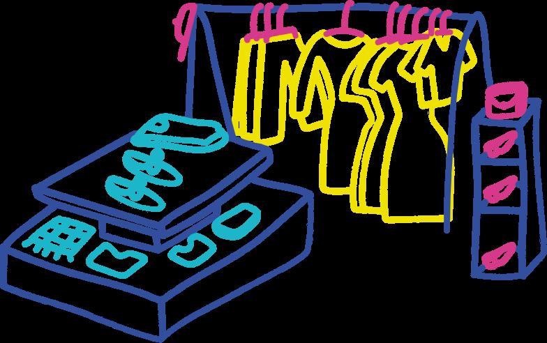 clothingshop Clipart illustration in PNG, SVG