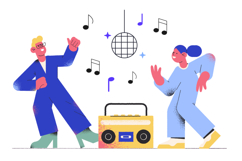 style Disco Vector images in PNG and SVG | Icons8 Illustrations