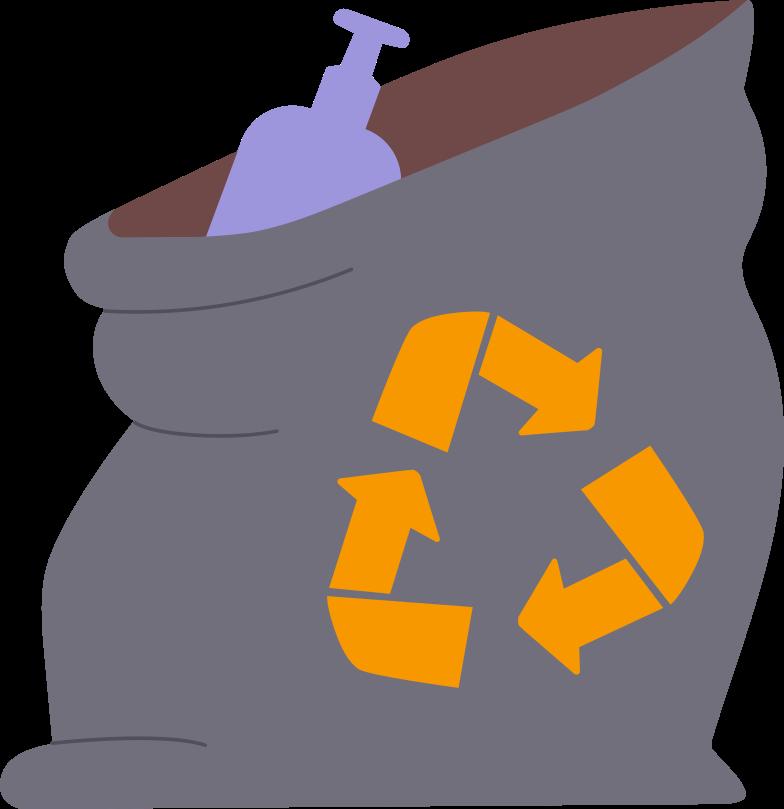 garbage bag Clipart illustration in PNG, SVG