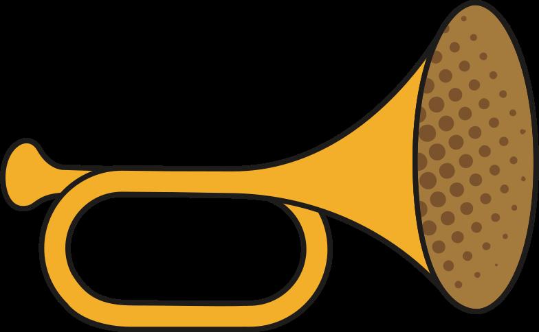 trumpet Clipart illustration in PNG, SVG