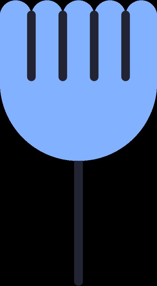 flower color Clipart illustration in PNG, SVG