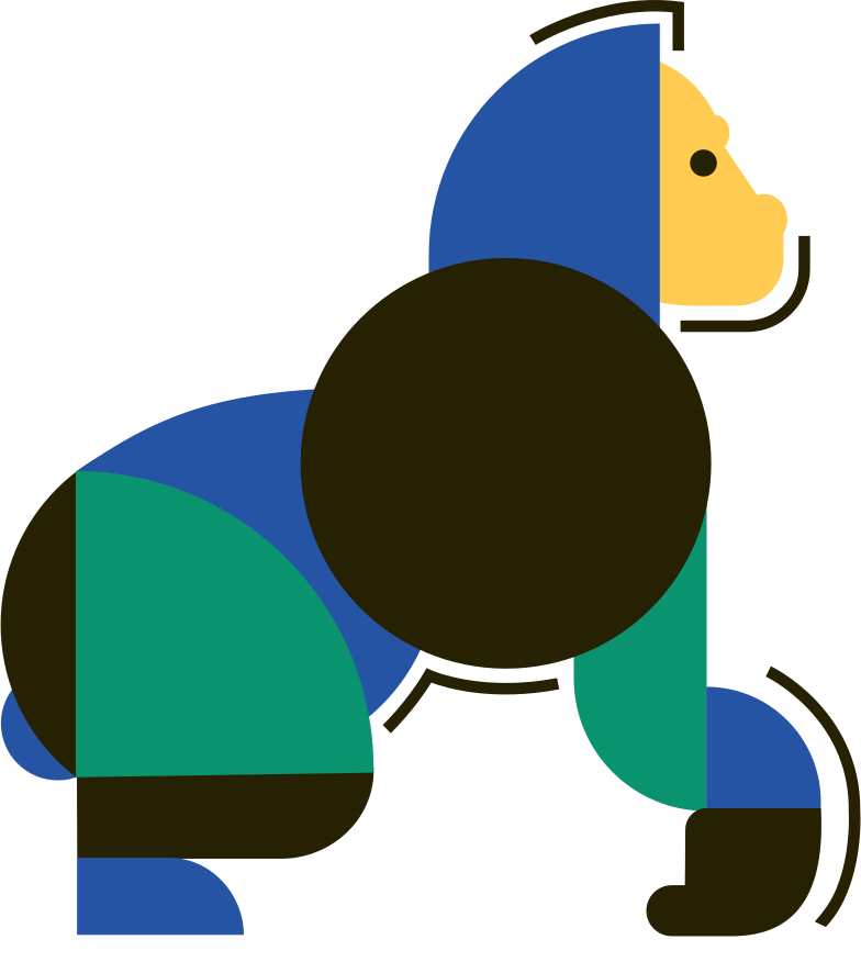 style gorilla Vector images in PNG and SVG | Icons8 Illustrations