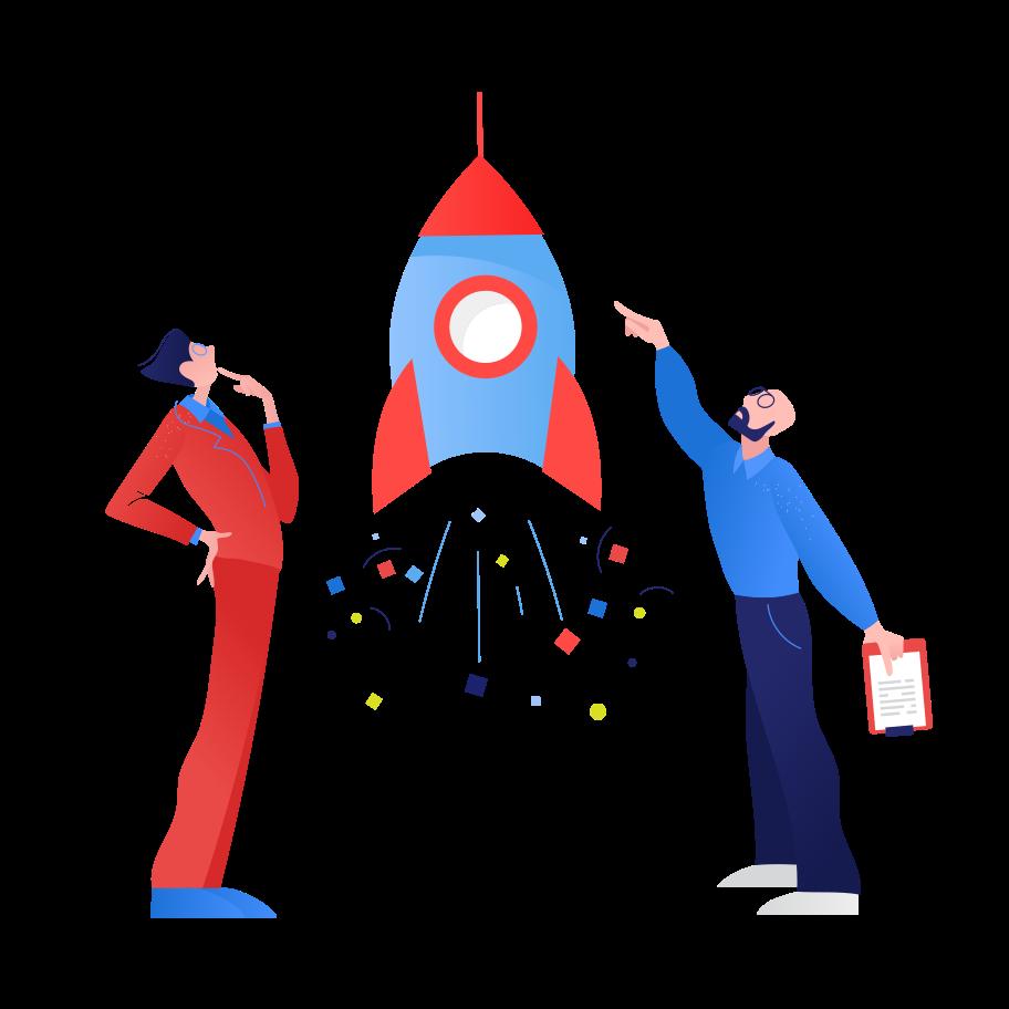 Start up preparation Clipart illustration in PNG, SVG